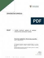 Analýza Iquap - Využitie mobilných aplikácií pri realizácii colnej kontroly ochranných známok