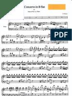 Josef FIALA -Oboe Concerto in B major-oboe and piano