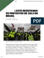 Pinheiro-Machado_França está reeditando os protestos de 2013 do Brasil