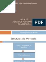 Economia - Aulas 10 - Mercados Competitivos - 2018 - Alunos - Exercícios Iguais a Lista.pdf