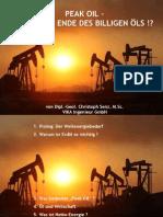 2010 Peak Oil Vortrag