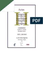 FONSECA, Marcelo - Os Cinismos Em Quincas Borba - Congreso de La SFU
