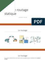 Rappel _ Le Routage Statique