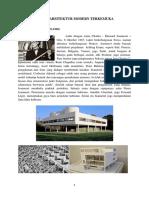 Tugas Perkembangan 4 (Tokoh Arsitektur Modern)
