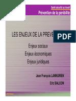 2 - Penibilite Et Prevention Enjeux