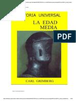 Historia Universal-la Edad Media-Tomo 4-Carl Grimberg