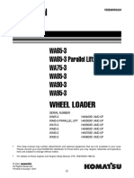 KOMATSU WA95-3 WHEEL LOADER Service Repair Manual SN:HA980051 AND UP.pdf
