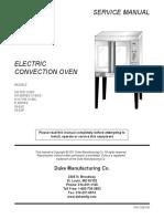 Manual de Servicio de Hornos Electricos