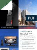 Datasheet Desktop Lenovo V530 SFF English