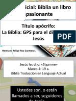 La Biblia, GPS Para El Discípulo de Jesús