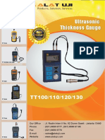 Ultrasonic Thickness Gauge TT100,110,120,130