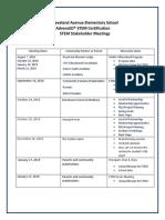 stakeholder meetings st1