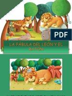 La Fábula Del León y El Ratón