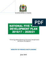 FYDP II 2016_17_2020_21