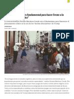 """2018 10_26 """"Estudiar La Magia Es Fundamental Para Hacer Frente a La Manipulación Política"""" EL PAÍS"""