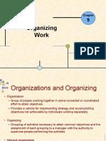 Organizing Work