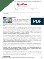 Imposto Sobre Grandes Fortunas_ Considerações Acerca Da Obrigatoriedade Constitucional de Sua Instituição - Migalhas de Peso