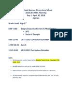 pbl springboard planning 2018  1