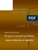 teoría cientifica