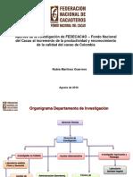 Nubia Martinez - Aportes de La Investigación de Fedecacao Fondo Nal Del Cacao Al Incremento de La Productividad y Reconocimiento de La Calidad Del Cacao en Colombia