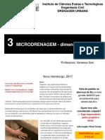 3 Microdrenagem - Dimensionamento