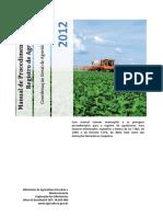 Manual de Procedimentos Para Registro de Agrotoxicos