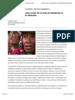 Democracia y Exclusión Social OSVALDO MARTINEZ