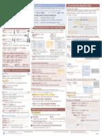 StataCheatSheet Programming