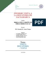 Informe Visita Yauli Grupo Puno