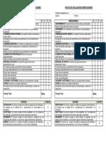 Pauta de Evaluación Disertaciones