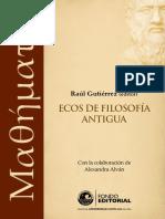 AAVV - Μαθήματα. Ecos de filosofía antigua.pdf