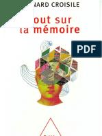 Tout Sur La Mémoire -Odile Jacob