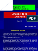 Clase 1 Analisis de La Inversion PDF (1)