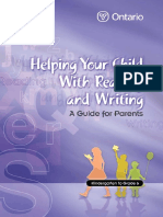 Helping You Child with Reading and Writing