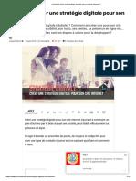 Comment Créer Une Stratégie Digitale Pour Son Site Internet