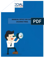 Manual de Usuario Office 365 - One Drive