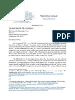 Grassley Ghaisar Letter