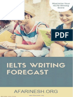 IELTS Writing Forecast