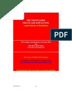 Dictionnaire Francais Espagnol
