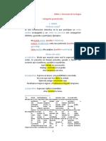 Tema 1, Estructura de La Lengua, Exani Yo