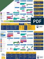 Calendario Academico UNAH 2019