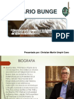 Mario Bunge Breve Presentacion