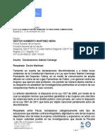 Consejería Presidencial para la Equidad de la Mujer pide a la Fiscalía investigar al presidente del Club Deportes Tolima por declaraciones contra las mujeres futbolistas