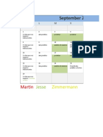 Septimebre programacion mensual