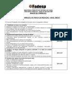 266 Grade de Correcao Das Provas de Redacao Dia 18.11.2012