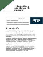 TR024 - Técnicas de Dirección y Liderazgo Organizacional 1