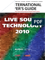 Audio Media Magazine _live Sound Technology 2010