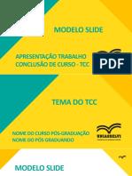 Modelo Slide Apresentacao Tcc
