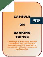 Capsule on Banking