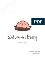 2nd Ave Bakery - Business Plan